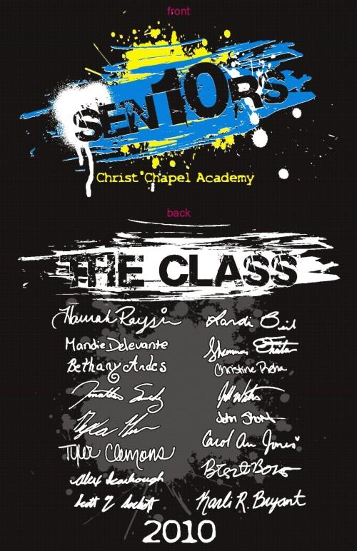 Shirt Art | Senior Class Custom T-Shirts Designs School Spiritwear ...