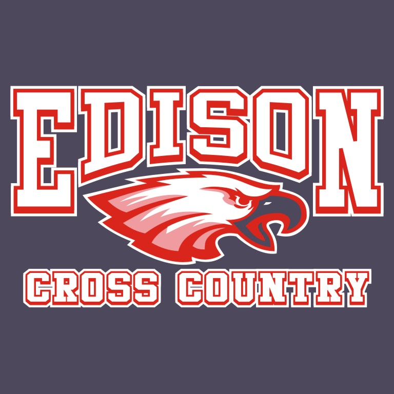 High School Cross Country Shirt Print